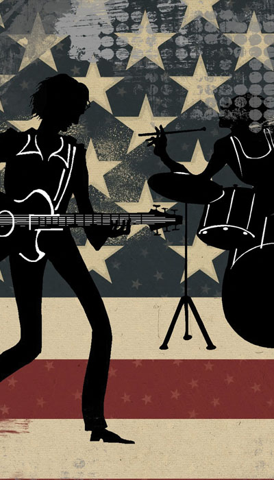 Ain't that America; Rock 'n' Roll Icons