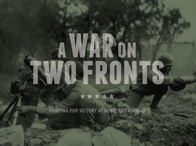 Cover of A War on Two Fronts